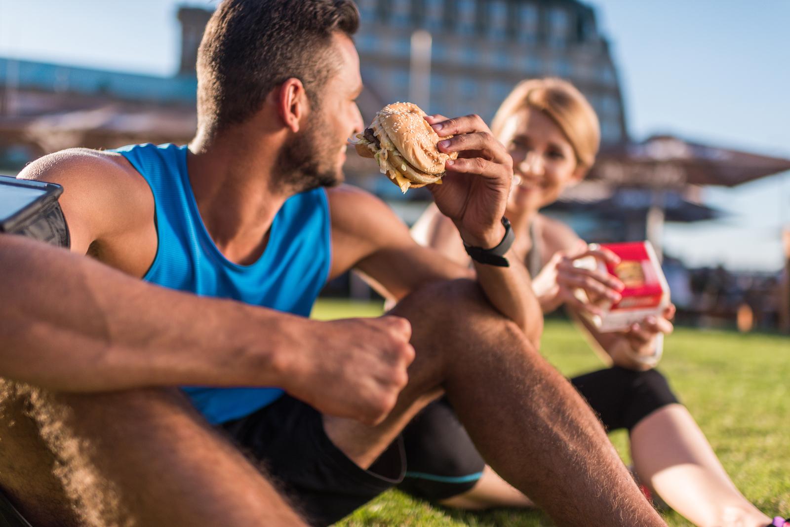 posiłek przed i po treningu