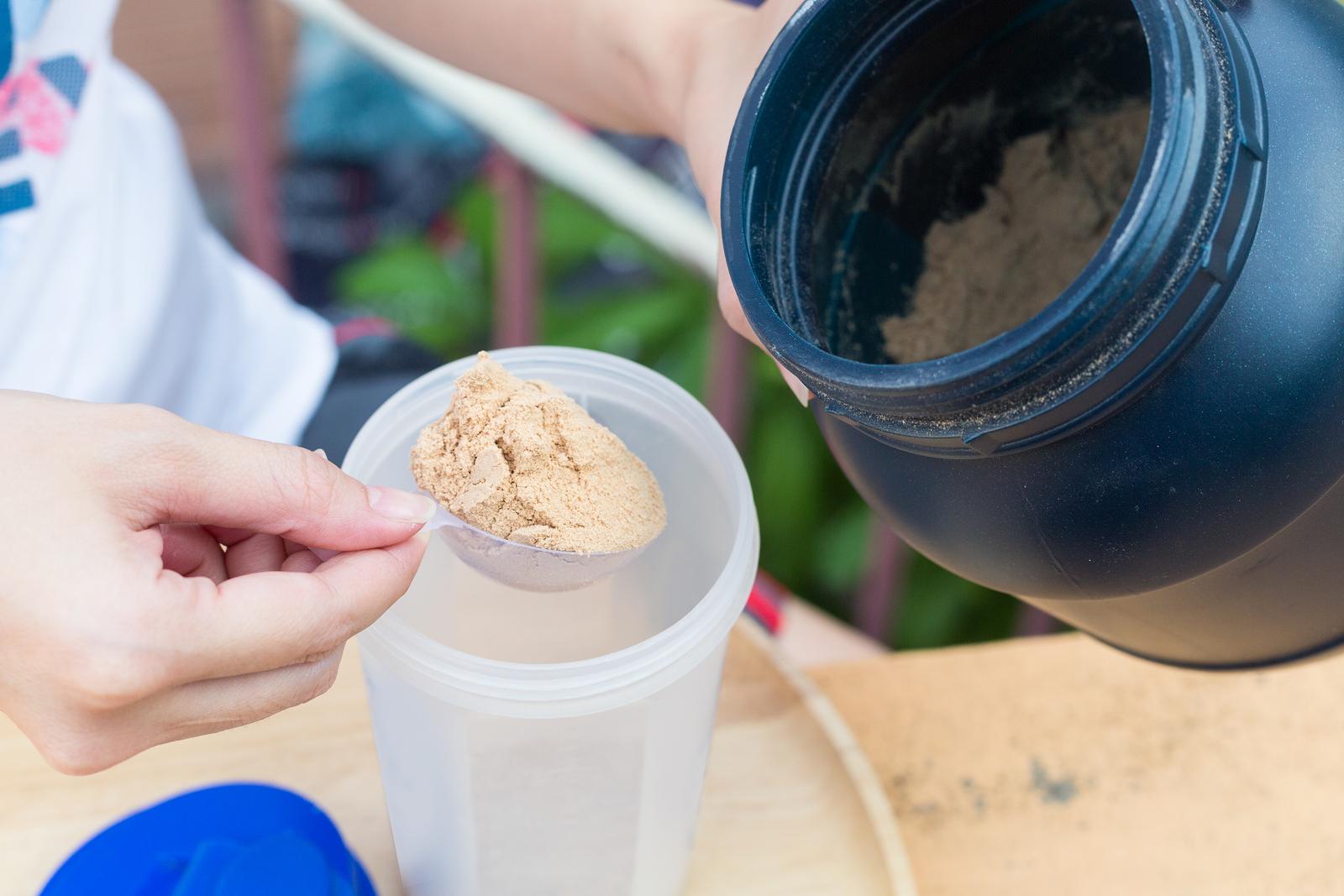 białko serwatkowe odżywki białkowe