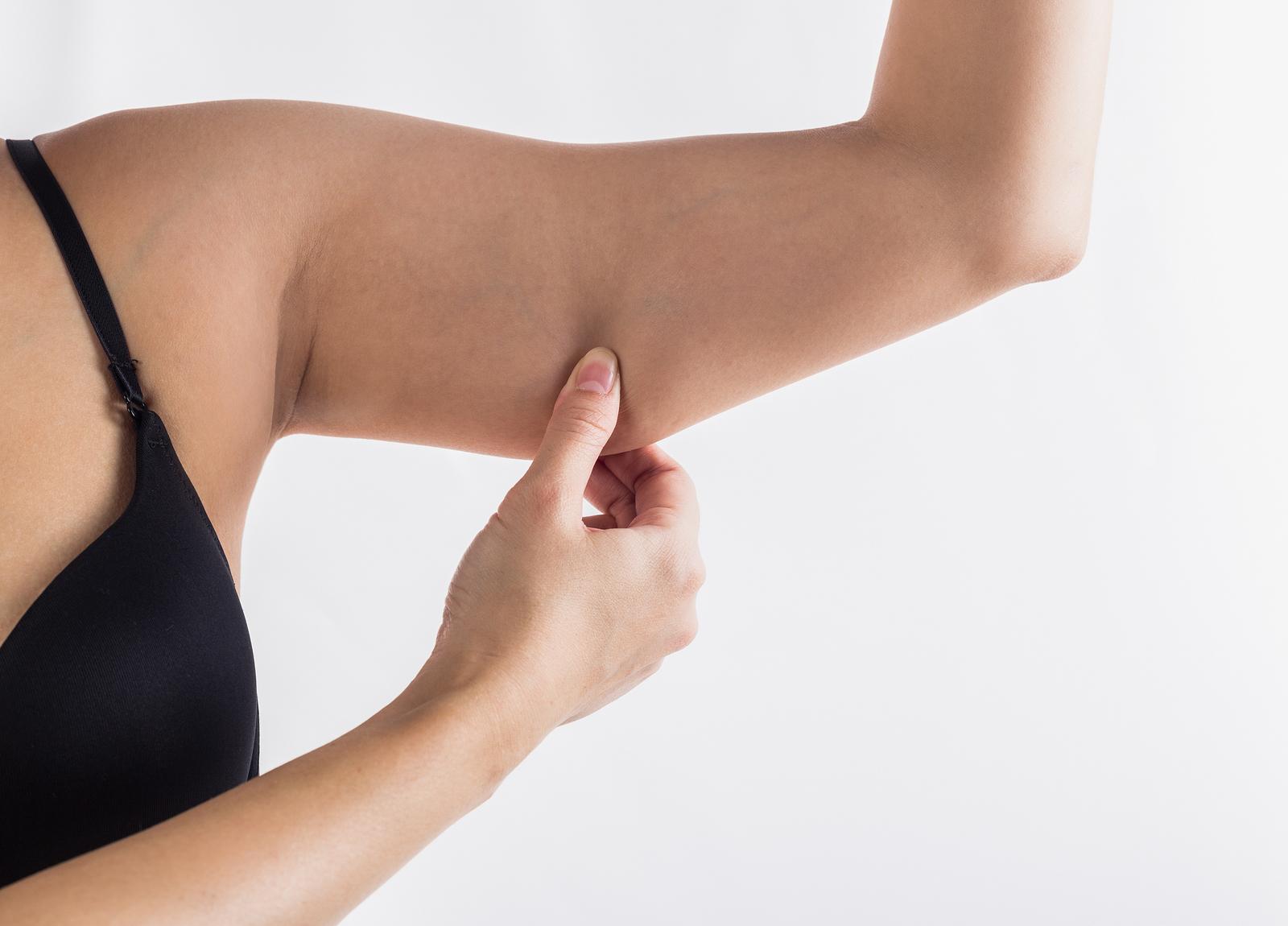 ćwiczenia na pelikany obwisła skóra ramion