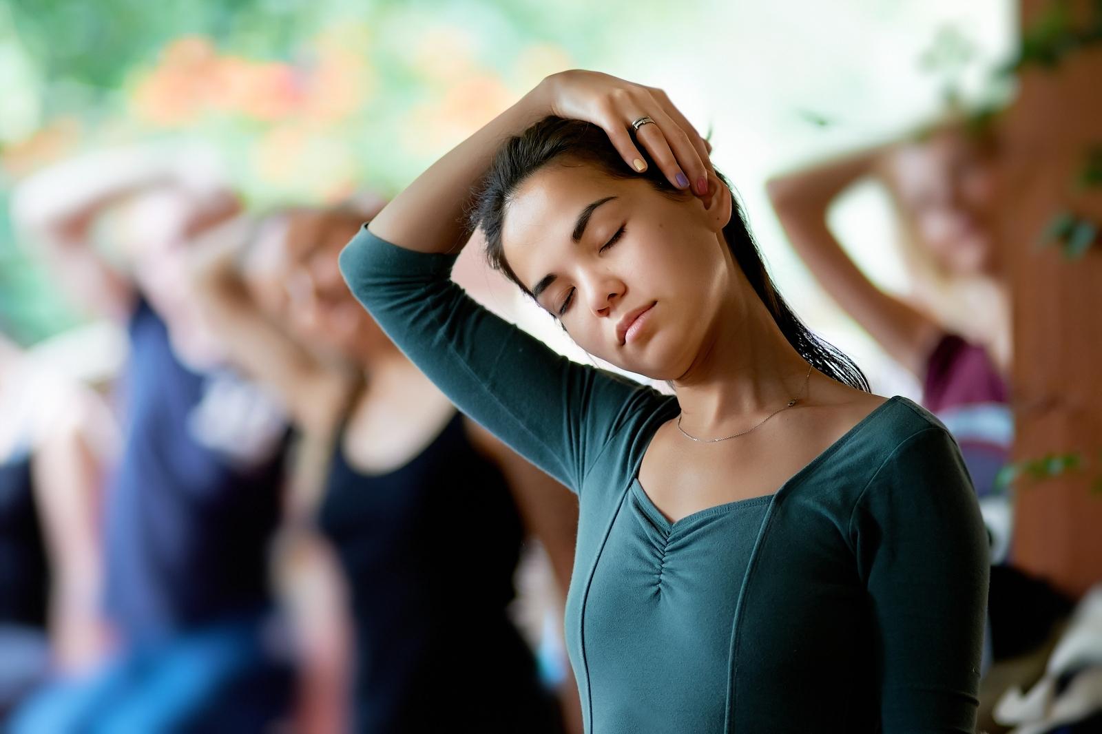 stretching ćwiczenia rozciągające