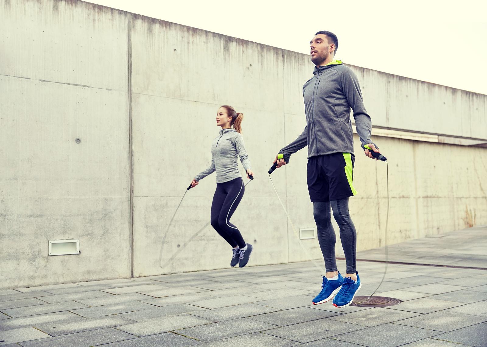 skakanie na skakance efekty