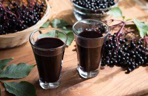 sok z czarnego bzu właściwości zastosowanie