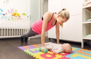 jak zrzucić brzuch po porodzie