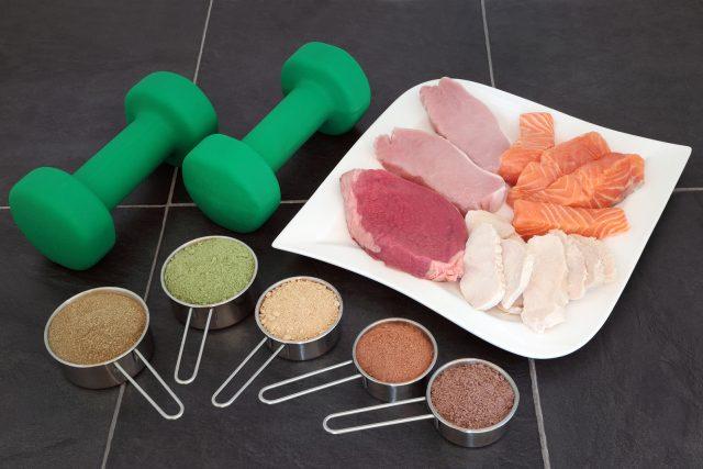 odżywki białkowe na odchudzanie