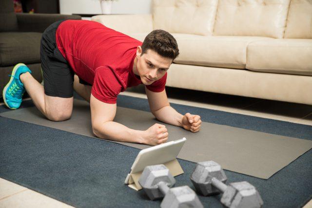 trening siłowy w domu