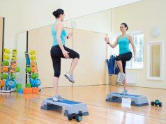 efekty ćwiczeń na stepie