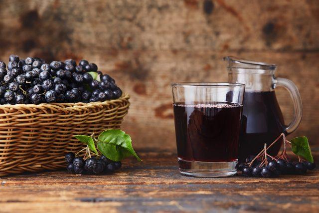 sok z aronii właściwości zastosowanie przepis